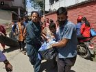 7.4 and 6.3 magnitude earthquakes have rocked Nepal this afternoon, less than three weeks after a 7.8 magnitude quake left more than 8,000 people dead.