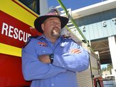 ONE of the region's most experienced firefighters has been forced out of his station over a bureaucratic beard ban.