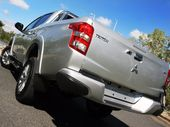 MUCH like the average tradesman, the all new Mitsubishi Triton works hard and plays even harder.