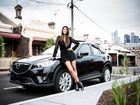 Pia Miller is at home in her Mazda SUV