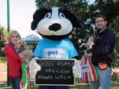 QUEENS Park is set to go barking mad on Sunday when about 1000 dog owners descend on it for the annual Million Paws Walk.