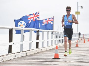 More action from the inaugural Tri Fraser Coast.