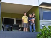MORE than 50 people inspected a new affordable housing complex in Gladstone at the weekend.