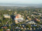 IPSWICH has Toowoomba kissing the canvas as the pair battle to attract new residents.