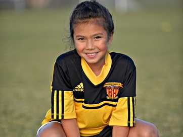 Junior sport action on May 18 at the Sunsnine Coast Fire elite academy soccer training