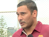 TODD Greenberg concedes the furore over the Justin Hodges case will lead to a review of players potentially missing grand finals because of low-grade offences.
