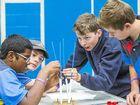 MINI-BRIDGE building skills helped Chinchilla State High School clinch the daily prize on day two of the 2015 Darling Downs Science and Engineering Challenge.