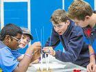 School teams build bionic hands and bridges