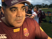 IN THE early days of his rugby league career in Brisbane, Mal Meninga was often criticised for not being aggressive.