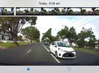 WOW that was close. The Chronicle has obtained dash cam footage of a frightening near miss on Ruthven St.