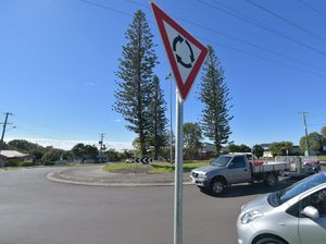 To go with Road Rules column. Article about the correct way to exit roundabouts. Photo: Brett Wortman / Sunshine Coast Daily