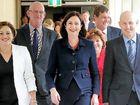 Premier Annastacia Palaszczuk leads team into a fiery forum