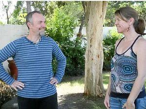 MARKET MARVEL: New providore Trevor Druery with Markets convenor Peta Hughes.