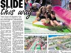ORGANISERS of a giant waterslide event planned for Caloundra have been criticised for failing to deliver on ticket refunds after the event's cancellation.