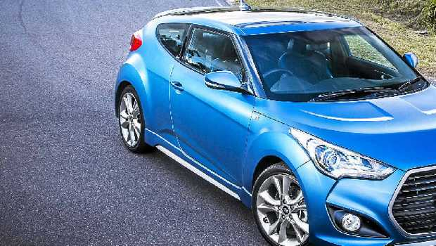 2015 Hyundai Veloster SR Turbo Series II arrives with a start price under $30,000.