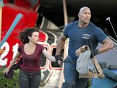 SAN Andreas is a large-scale disaster movie with a big heart.
