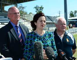 Premier announces NRL game in Rocky