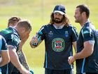BLUES forwards James Tamou and Trent Merrin have spoken highly of the time spent at the team's Coffs Harbour training camp.