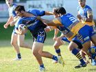IT WAS the new-look Goodna Eagles that got the better of the new-look Norths Tigers at Goodna yesterday.