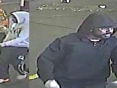 POLICE have released CCTV still images of two men that may be able to assist with enquires into a robbery with violence in Kingston early this morning.