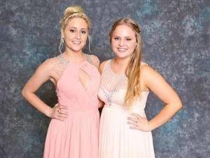 Jade Dell with her twin sister Hope. Hope died in a fatal crash on December 11, 2014