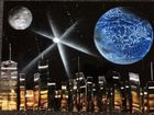Amazing space: Out of this world art gives glimpse of galaxy