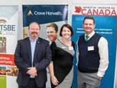 TOOWOOMBA was the first stop of a Canadian trade delegation's recent visit to Australia.