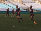QUEENSLAND wrapped up preparations for tonight's opening State of Origin clash in Sydney with a closed session at ANZ Stadium.