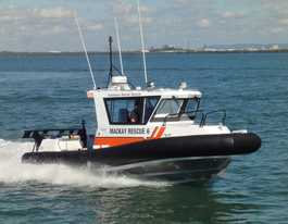 Five people and vessel located near Mackay after search