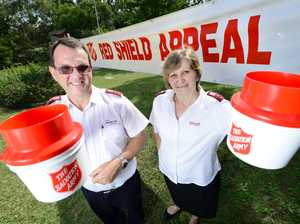 Lincoln and Leanne Stevens from the Inala Salvation Army.