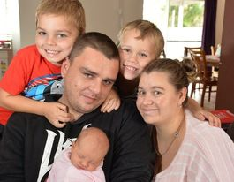 YOUR STORY: I helped deliver my baby girl in our home