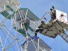 WATCH: Two rescued from Aussie World ride in mock emergency