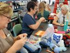 BEANIES, gloves and scarves are being produced for earthquake victims in Nepal, handcrafted by Noosa District State High School students and staff.