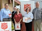 THE Salvation Army reminded Warwick locals to dig deep and donate ahead of the Red Shield Appeal doorknock event Sunday.