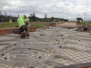 Work is well underway on Stage 1 of the Jetty4Shores project now Council is seeking funding for subsequent stages.