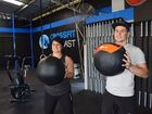 FIT for life rather than fit in the gym is the mantra Elisha Manion and Luke Guinane both live by.