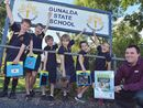 GUNALDA State Primary is the little country school punching above its weight after winning The Gympie Times' recent Win a Classroom Makeover Competition.