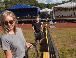 Festival strikes a local note