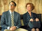 Ryan Reynolds and Helen Mirren in a scene from Woman in Gold.