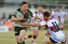 Matt Parcell in action for Ipswich Jets