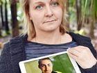TRAGEDY: Sandra Moran from Hervey Bay with a photo of her son Jaie, who was a victim of suicide. Sandra will ride her motorbike 36,000km around Australia later this year to raise awareness.