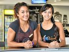 Body building duo's stunning debut