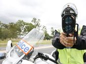 A MOTORIST caught doing almost 70kmh over the speed limit at the weekend has returned a positive roadside drug test.