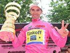 Three-finger salute follows latest Giro win