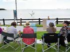 ART enthusiasts gathered at Cannonvale Beach on Tuesday morning to simply paint away the daily stresses of life.