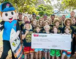 Getting a slice of the action for Coolum Boardriders