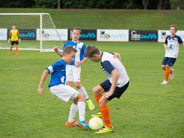Northern NSW football tournament at C.ex Coffs International Stadium. North Coast under 11s play Port Macquarie.