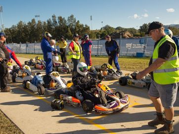 Geoff King Motors East Coast Over 40s Go Kart Titles