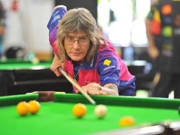 The Central Queensland Zone 8-Ball Championships were held at Boyne Island Community Centre over the weekend.