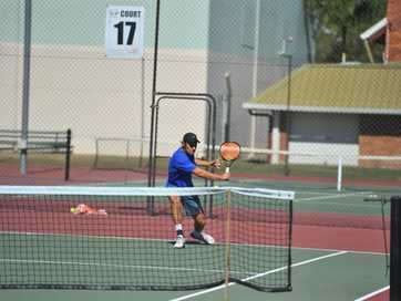 The 2015 Gladstone Tennis Open was held from Friday to Monday.